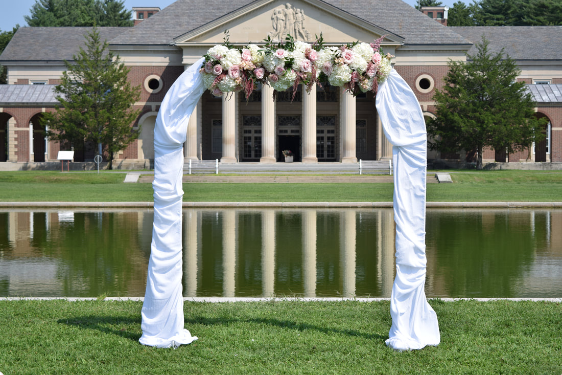 Wedding Flowers By Nectar Custom Florist At The Hall Of Springs In
